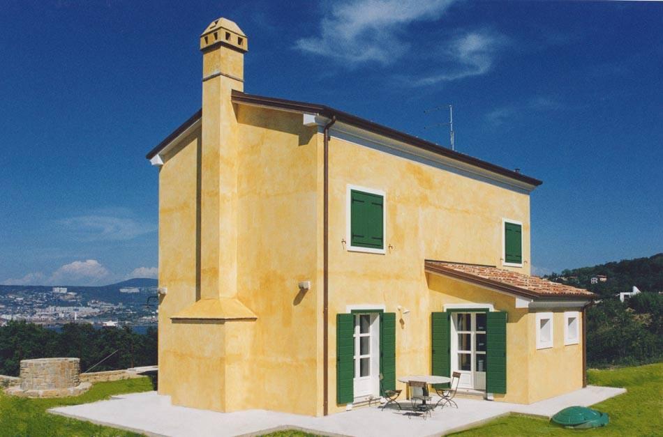 Casa a due piani a Trieste