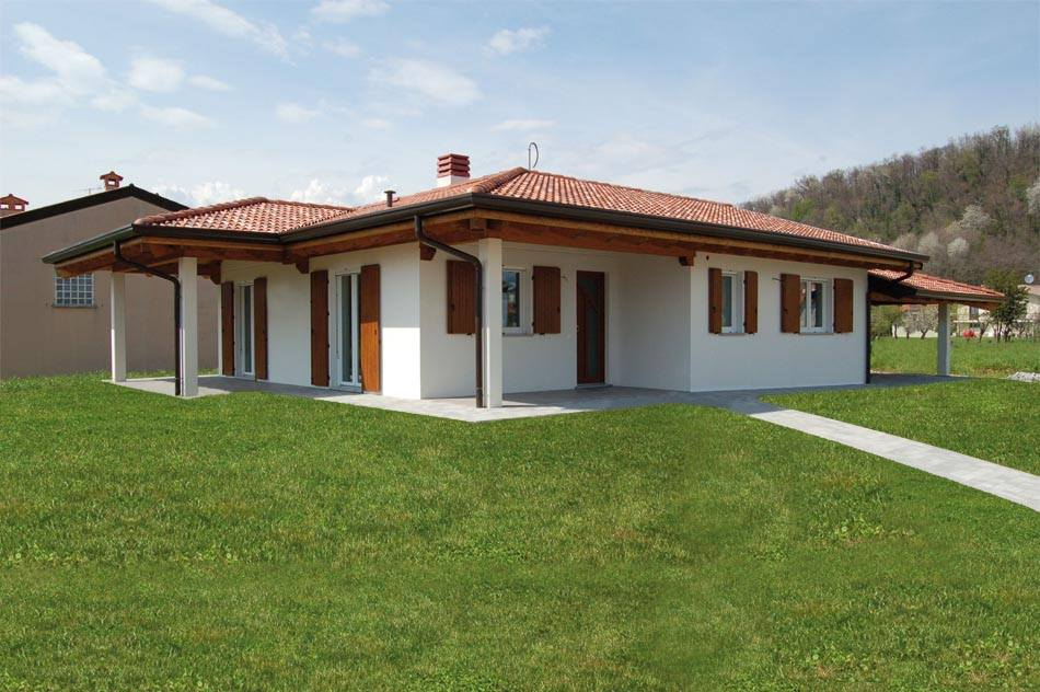 Casa A Un Piano Con Spazi Esterni Abc Costruzioni