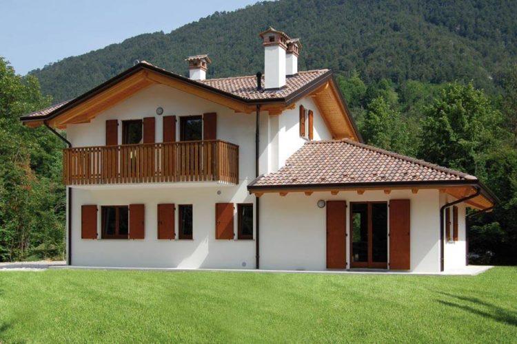 Case a 2 piani m su piani al pianterreno soggiorno con for Moderni piani di casa toscani
