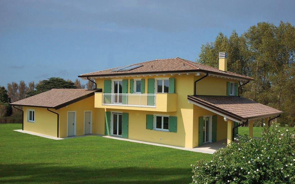 Case a due piani con porticato abc costruzioni - Case a due piani interni ...