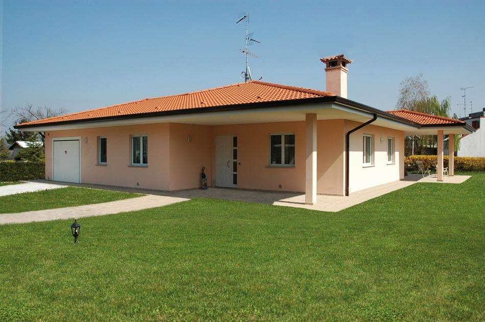 Casa monopiano di grandi dimensioni abc costruzioni - Case prefabbricate interni ...