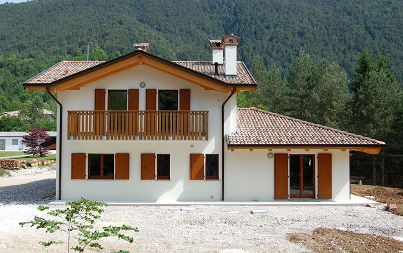 Casa su livelli sfalsati