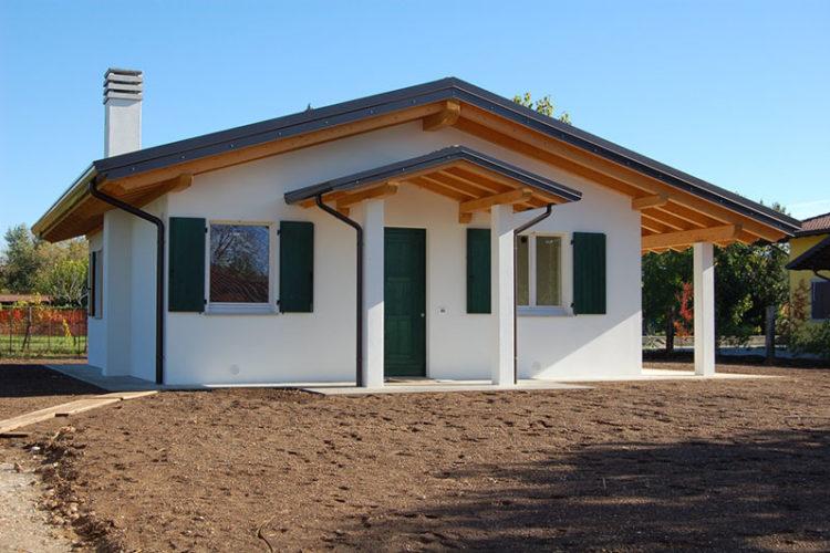 Casa monopiano di piccole dimensioni